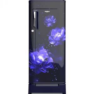 Whirlpool 200 IMPC ROY 185 Ltrs 2 Star Direct Cool Single Door Refrigerator (Sapphire Abyss)
