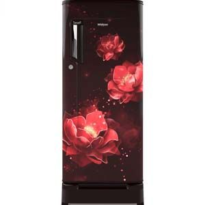 Whirlpool 200 IMPC ROY 185 Ltrs 2 Star Direct Cool Single Door Refrigerator (Wine Abyss)