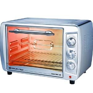 Bajaj 3500 TMCSS 35 Ltrs Oven Toaster Grill (Silver)