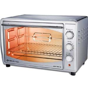 Bajaj 4500 TMCSS 45 Ltrs Oven Toaster Grill (Silver)