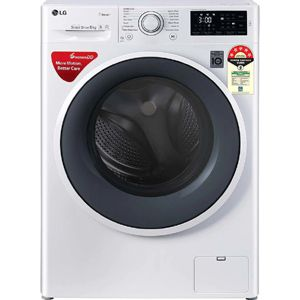 LG FHT1006ZNW 6 Kg Fully Automatic Front Load Washing Machine (White)