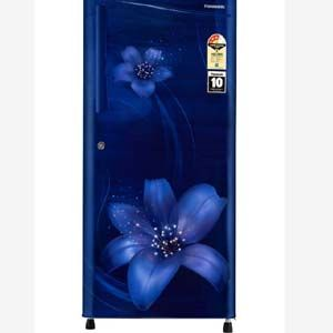 Panasonic NR-A193VFAX1 194 Ltrs 3 Star Direct Cool Single Door Refrigerator (Blue Floral)