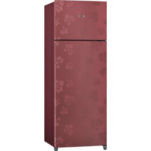 Bosch KDN30UV30I 288 Ltrs 3 Star Frost Free Double Door Refrigerator (Wine Red)