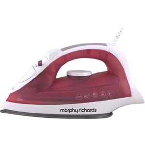 Morphy Richards Glide  1250 W Steam Iron (Red)