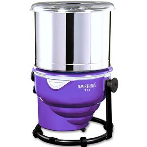 Amirthaa Tilt 2 Ltr Table Top Wet Grinder (Purple)