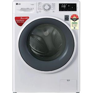 LG FHT1265ZNW 6.5 Kg Fully Automatic Front Load Washing Machine (White)