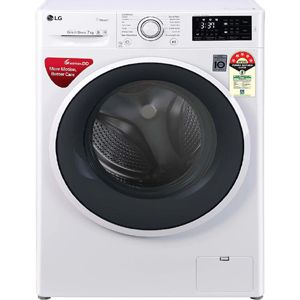 LG FHT1007ZNW 7 Kg Fully Automatic Front Load Washing Machine (White)