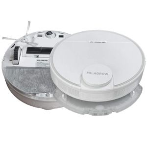 Milagrow iMap 10.0 Robotic Vacuum Cleaner (White)
